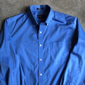 Eddie Bauer men's XL Blue Shirt